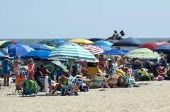 Bethany Beach packed two days before jazz funeral