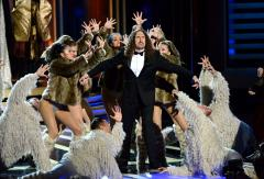 Weird Al Yankovic performs theme song medley at Emmys ceremony