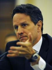 Darling, Geithner, predict growth ahead