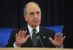 George Mitchell leaving Middle East post