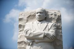 'I Have a Dream' speech remembered for use of 'sacred touchstones'