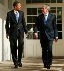 Bush understands why Obama prepping now