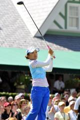 Arimura takes LPGA lead in Singapore