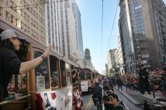 Cable cars clanging again as San Francisco transit sickout ends