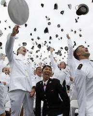 Decorated pilot named to head U.S. Naval Academy