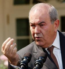 Former Iraqi Prime Minister Ayad Allawi urges restraint amid crisis