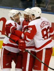 Red Wings lead NHL West All-Star voting
