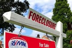 Foreclosure decline hits a glitch