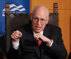 Cheney says former Soviet satellites worry about Crimea situation