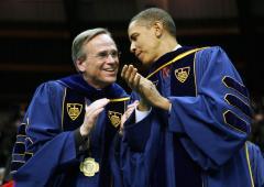 Notre Dame alumnus giving university record $75 million donation