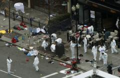 Boston Marathon: Bombs possibly carried in black nylon bags