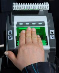 NEC touts its fingerprint technology