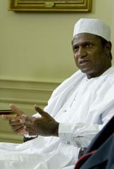 Jonathan sworn in as Nigeria's president