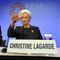 Lagarde: Situation still 'fragile'