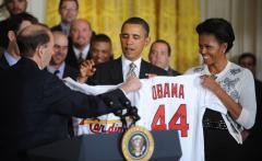 Obama honors Cardinals at White House