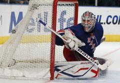 NHL: Ottawa 2, New York Rangers 0