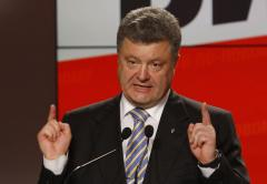 Poroshenko says Ukraine ceasefire starts Friday