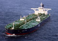 Tanker loaded with Kurdish oil off Turkish coast