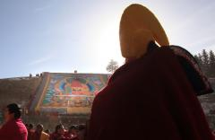Tibetan leader warns of military buildup