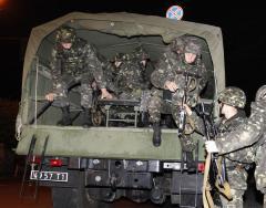 Russian troop buildup at Ukrainian border