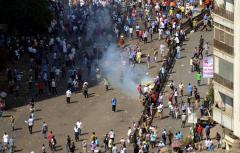 Clashes, violence expected across Egypt for Morsi trial