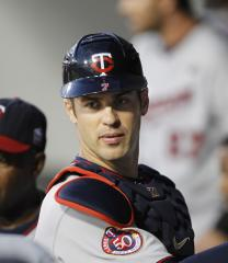 Twins' Mauer could be temporary DH