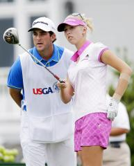 Korda pulls ahead in LPGA tournament in China
