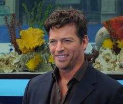 Harry Connick Jr. says he writes music while he is on movie sets