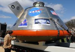 NASA's Orion spacecraft arrives in Florida