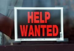 Jobless claims fall sharply in week