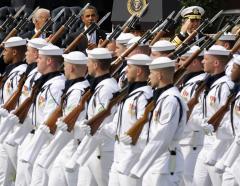 Romney calls for bigger U.S. Navy
