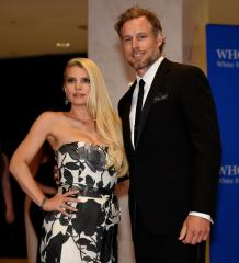 Jessica Simpson and fiance Eric Jonhson throw joint bachelor, bachelorette party