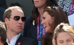 Prince William shy on 'Kiss Cam' encounter