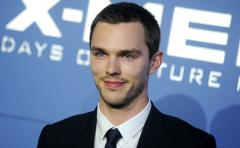 Nicholas Hoult cozies up to Riley Keough