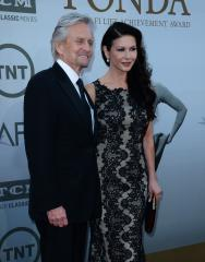 Catherine Zeta-Jones, Michael Douglas address his cancer