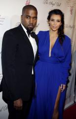 Kim Kardashian and Kanye West check on wedding details in Paris