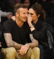 Victoria Beckham puts husband on cover of Vogue Paris