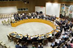 China says U.N. resolution necessary