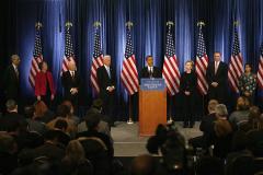 Obama picks heavy hitters for U.S. defense team