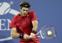 Federer, del Potro advance in Rotterdam