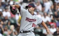Minnesota pitcher suspended