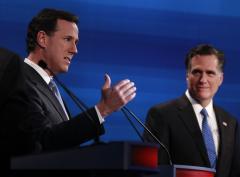 Santorum, Romney labor over Michigan
