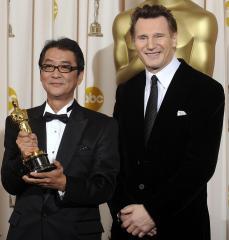 Director describes Neeson as 'heroic'
