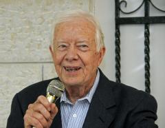 Carter's Hamas visits condemned by some
