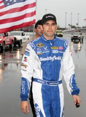 Almirola wins first Sprint Cup pole