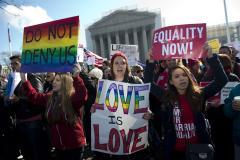 Same-sex marriage rolls