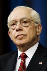Mukasey leaves hospital; returns to work