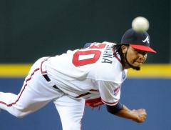 Braves stifle the Padres