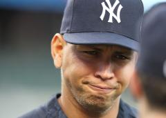 A-Rod out of N.Y. lineup again