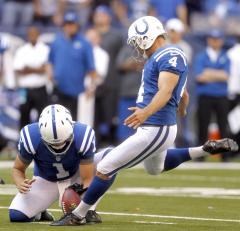 Colts kicker Adam Vinatieri wants four points for 50-yard field goals